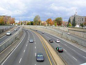 AutoRoute 15 in Montreal
