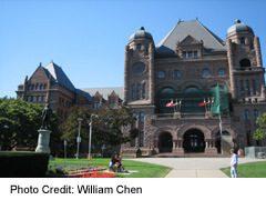 Queen's Park, the Ontario Legislature