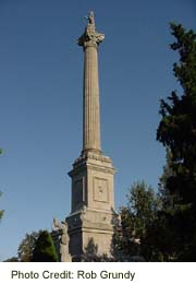 Sir Isaac Brock Memorial at Queenston