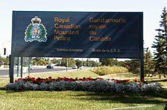 RCMP Training Academy, in Regina