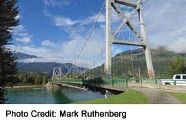 Revelstoke Bridge view