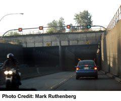 Richmond-Delta: Massey Tunnel-Rush Hour Lane Change