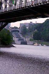 Rideau Canal Ottawa Locks, as seen from Hull