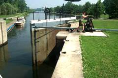 Rideau Canal Lock Worker