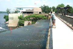 Rideau Falls and Obsrvation Hall