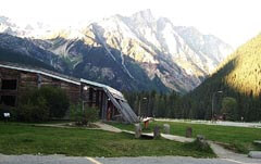 Snowsheds at Rogers Pass
