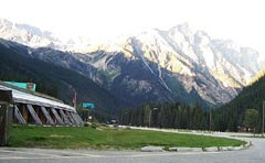 The Rogers Pass visitor Centre in British Columbia
