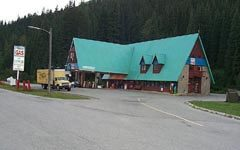 Information Centre at Rogers Pass