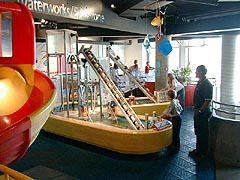 Waterworks exhibit at Science North