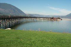 Salmon Arm's Wharf