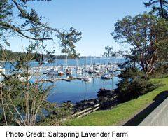 Saltspring Island Ganges Marina