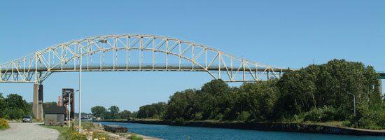 International Bridge at Sault Ste Marie (bring you rpassport)