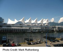 Vancouver Waterfront-Canada Place Sails