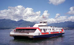 Seabus to the North Shore