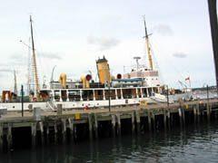 Ship at Wharf