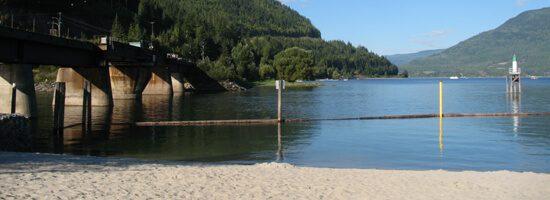 Trans-Canada bridge at Sicamous