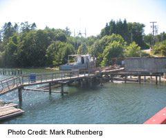 Sooke Harbour Fishing Boat on Dock