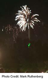 Stampede Fireworks happen nightly