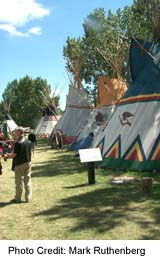 Calgary Stampede Native Village