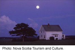 Stewiacke farmhouse, Nova Scotia