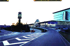 Vancouver International Airport at Dusk