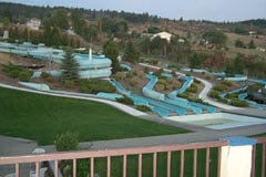 Atlantis Waterslides, just north of Vernon