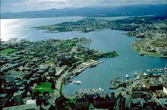 View of Victoria's Inner harbour