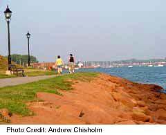 Victoria Park's scenic waterfront