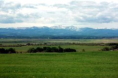 Millarville has wide-open views of the mountains and foothills