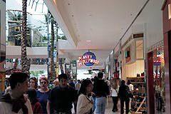 Crowds at West Edmonton Mall