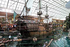 Santa Maria replica at West Edmonton Mall