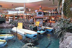 Deep Sea Adventure submarine rides at West Edmonton Mall