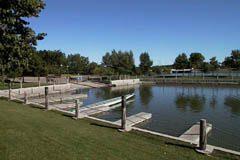 Regina's Wascana Lake boat docks