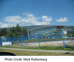 Aquatic Centre on Marine Drive in West Vancouver