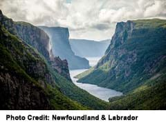 Gros Morne is geologicaly unique on the planet, with many spectacular views