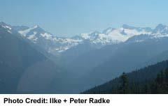 Whistler - mountain scenic view