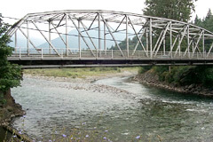 bridge over Vedder River