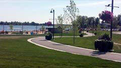 Parkland just south of TCH on Lake Chestermere