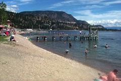 beachfront at Peachland