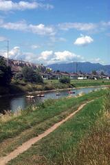 tubing is popular on Penticton's Okanagan River Channel