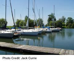 Swan's Marina, in Pickering
