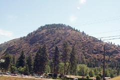 Mount Boucherie overlooks the community of Westbank