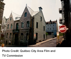 Quebec City's Old Town/Lower Town is so charming