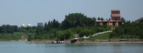 Heritage Park view from SS Moyie