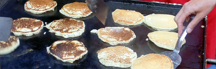 Catch at LEAST one Stampede Breakfast every morning!