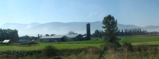 Farmland near Abbotsford