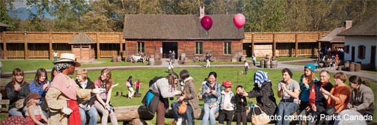 Fort Langley Historical Site, run by Parks Canada
