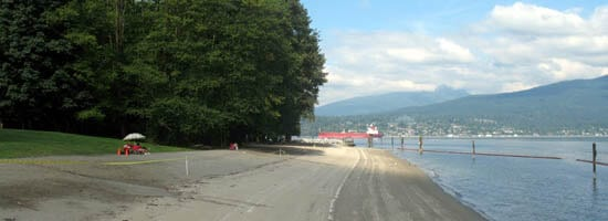view of Burrard Inlet at Port Moody