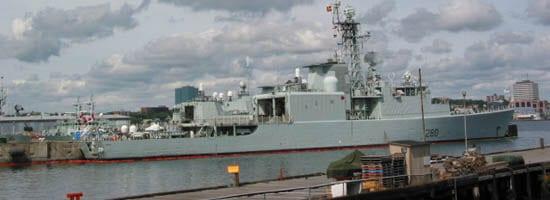 Halifax Canadian naval ships