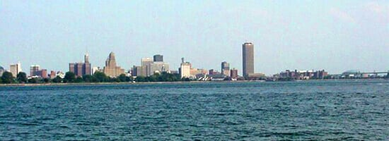 Fort Erie View of Buffalo, NY